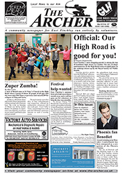 image of The Archer front page