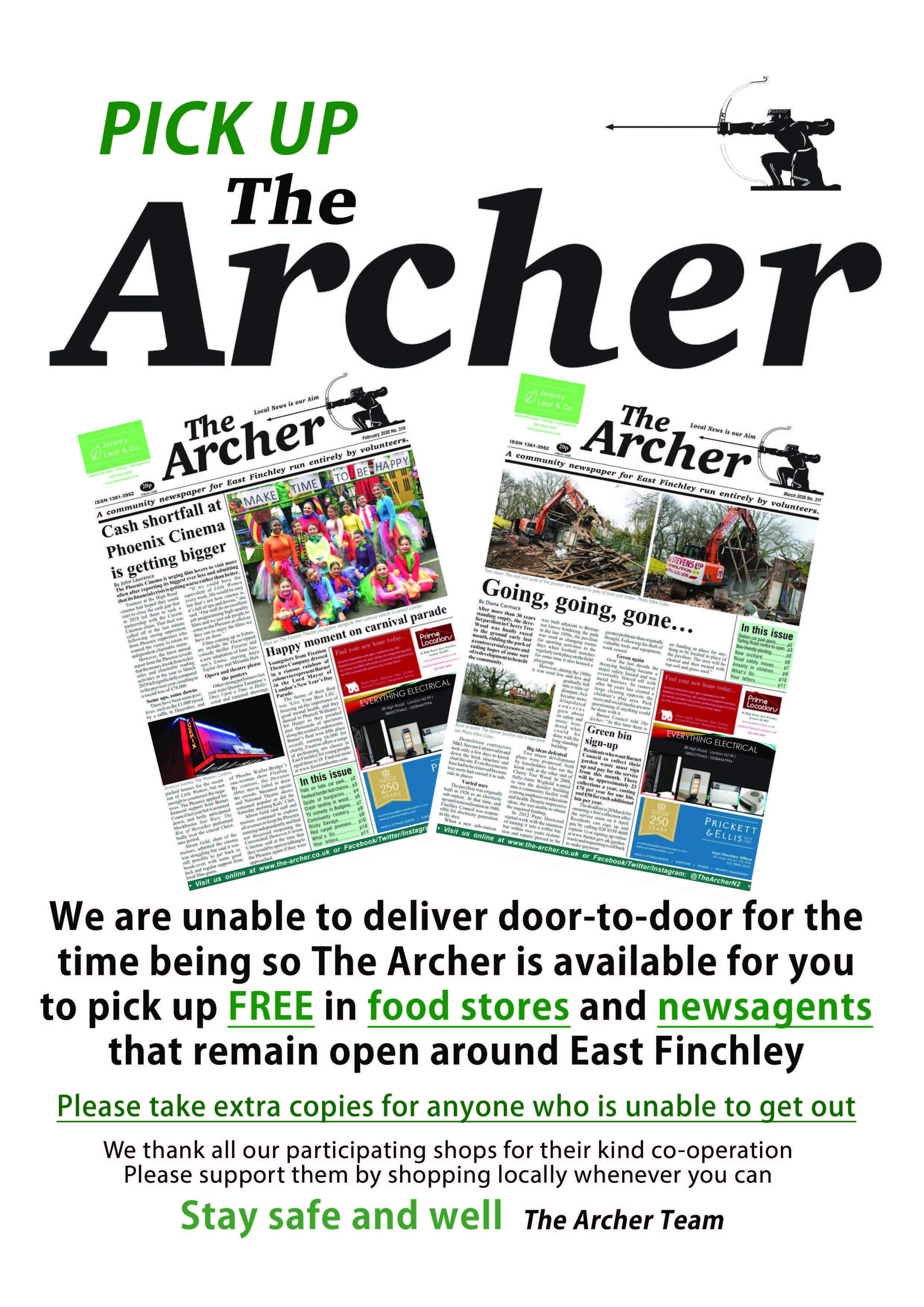 Pick up The Archer poster